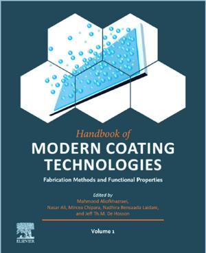 Cover handbook of modern coating