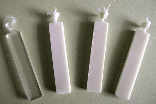 Polyurethane test bars