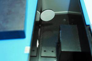 Zu sehen ist die Innenansicht des Spektralphotometers.