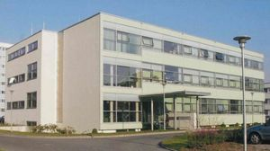 INNOVENT main building after its completion in 2001