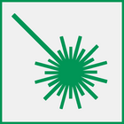 Icon: laser beam