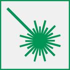 Symbolbild: Laserstrahl
