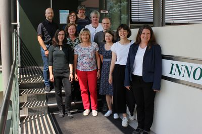 The colleagues of the Chemical Technologies Team