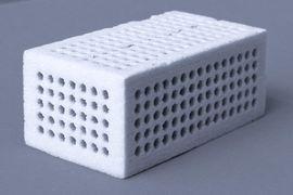 Strukturierter Formkörper 3D-Pulverdruck