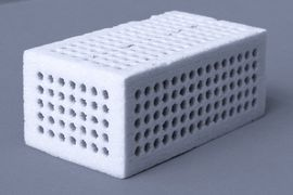 3D molded body made by powder priting
