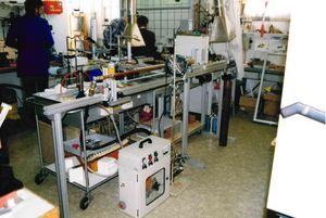 Laborräume in der Göschwitzer Straße 1995