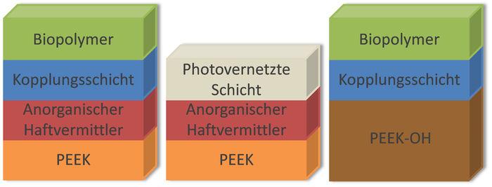 Strategien zur Beschichtung von PEEK-Oberflächen