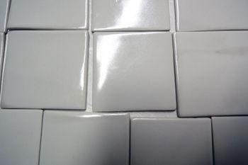 Antibakterielle Beschichtung auf Porzellan