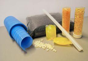 Dargestellt sind verschiedenen Anwendungsformen von Schmelzklebstoffen.