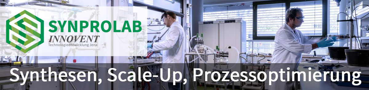 Synprolab: Synthesen, Scale-up, Prozessoptimierung
