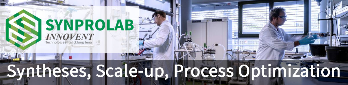 Synprolab: Syntheses, Scale-up, Process Optimization